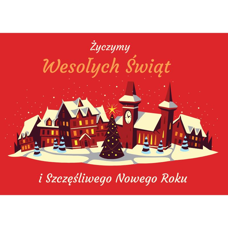Pocztówka 14.8x10.5 сm - Kwadratowy post graficzny